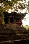 Hanbyeokdang pavillon, vue de l'entrée