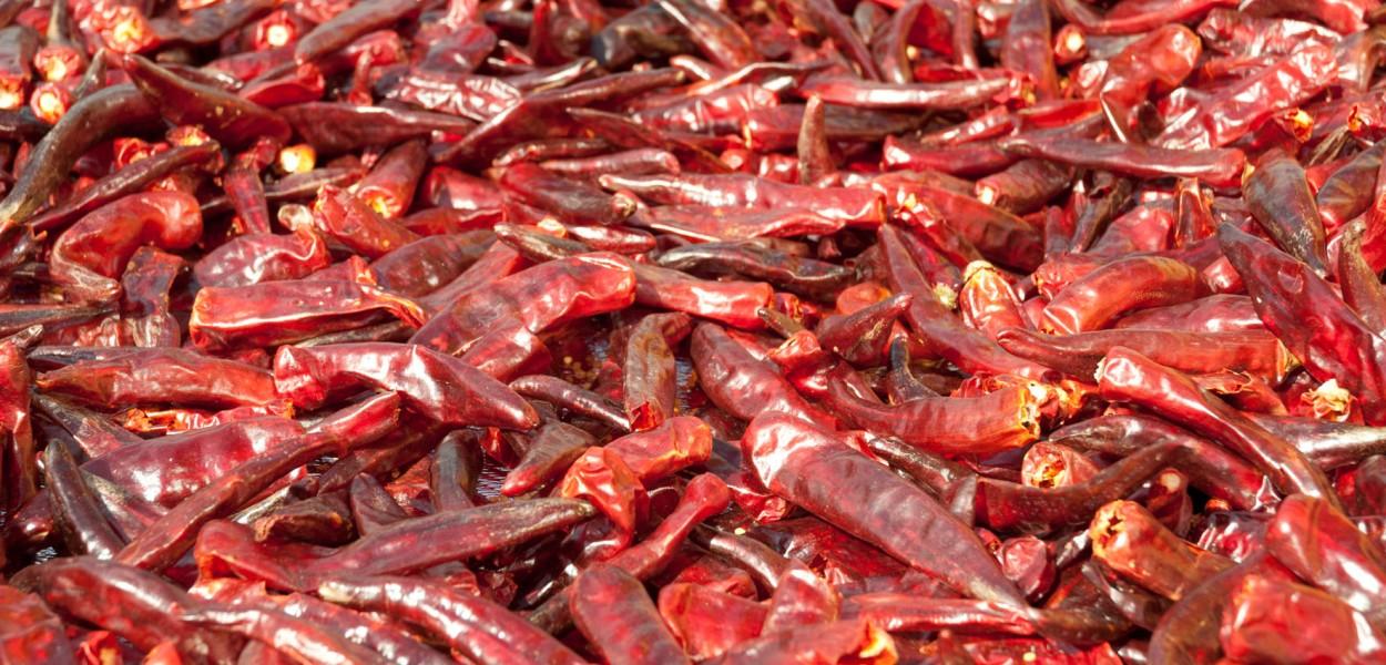 Les piments ont été importés par les Portugais
