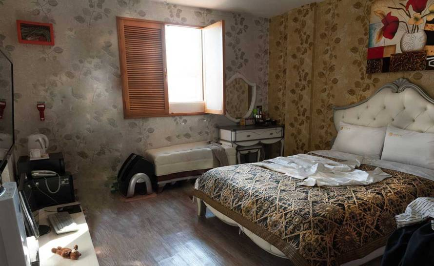 Hotel Andong, expérience dans un love hotel